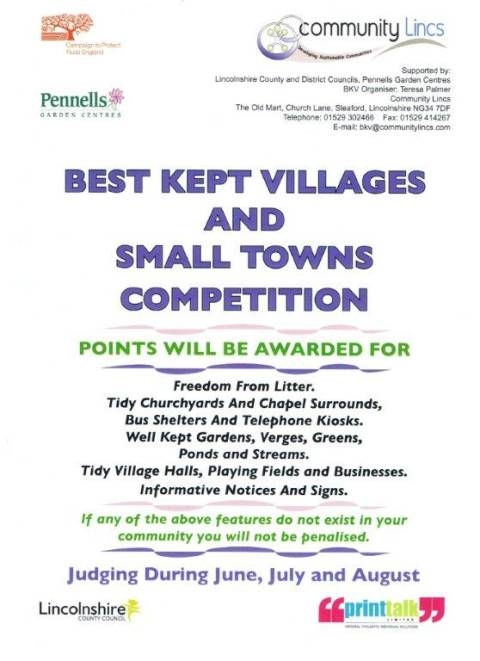 Lincolnshire Best Kept Village Competition 2011