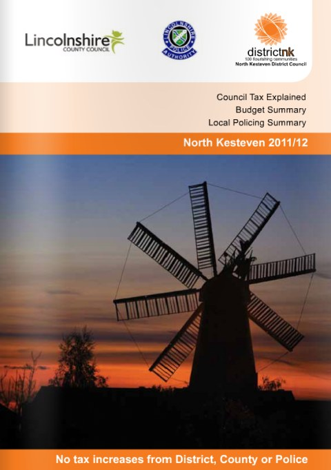 NK Council Tax Booklet 2011 Amended Version