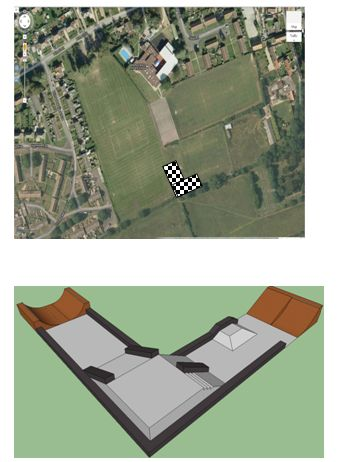 Proposed Metheringham Skatepark
