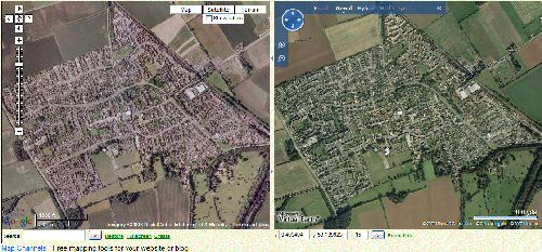 Aerial Imagery comparison