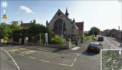 Google Street View - Metheringham Methodist Church