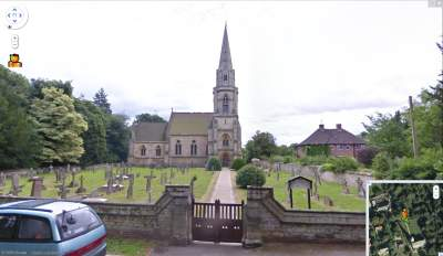 Google Street View - Nocton All Saints Chirch