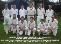 Blankney Cricket Club - 2007 1st XI