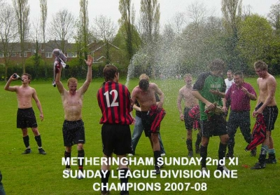 Metheringham FC Sunday 2nd XI League Champions