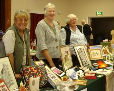 WI Stall at Meg Craft & Hobbies