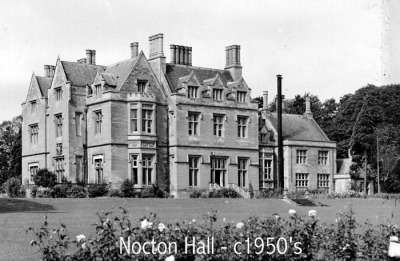 Nocton Hall - 1950s