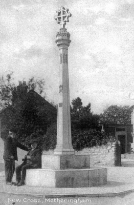 Metheringham Market Cross 1911