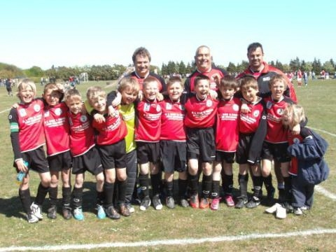 Meg FC U10a win their league